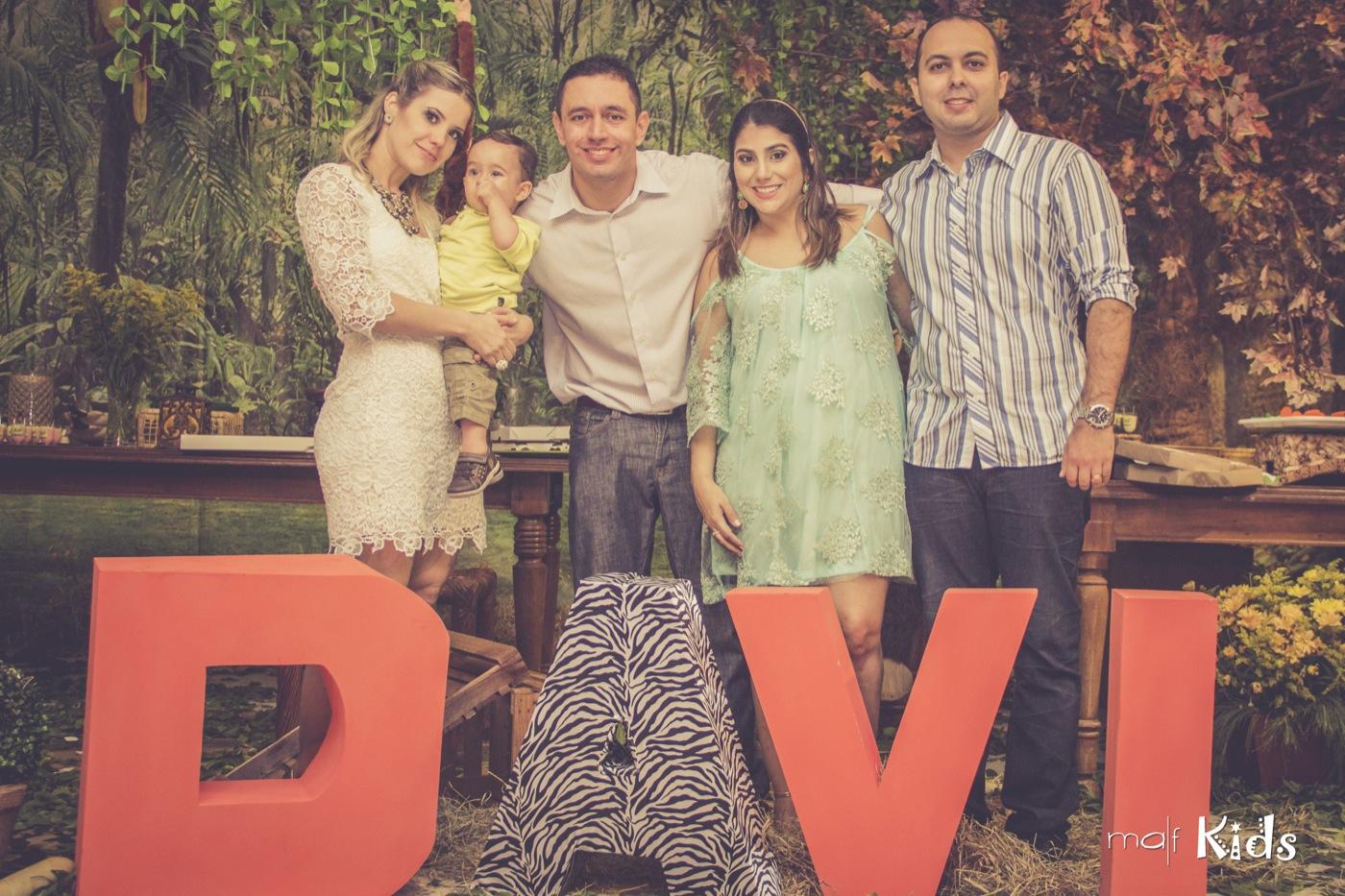 Os padrinhos blogueiros e os papais do Davi, em plena felicidade e gratidão à Deus.